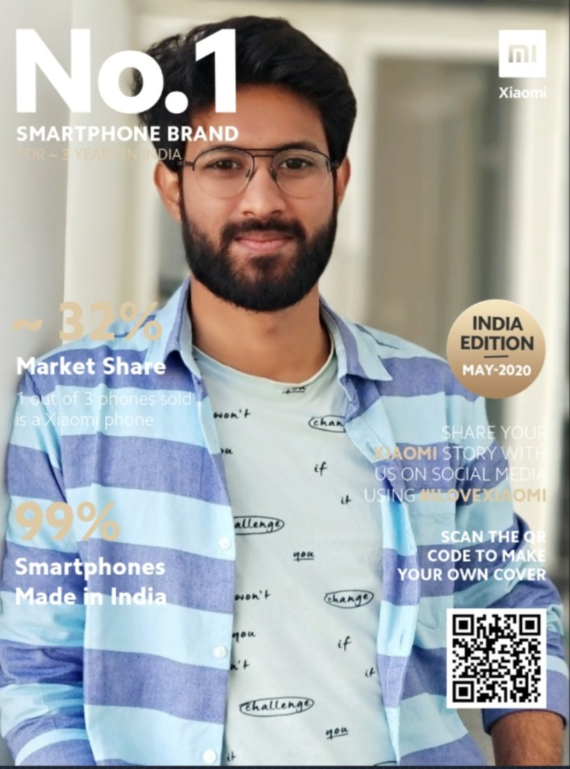No.1 Smartphone Brand for ~3 years in India. Best affordable phones with good features. #ILoveXiaomi @XiaomiIndia #ILOVEXIAOMI pic.twitter.com/4NVIYEHFar