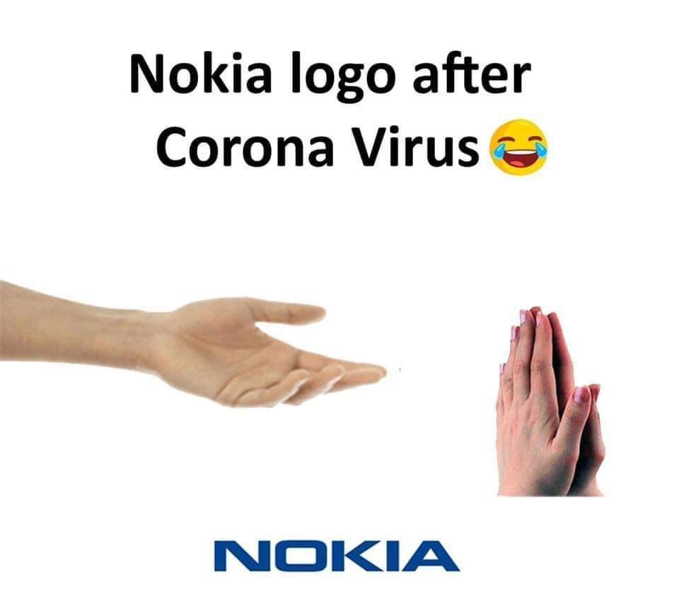 Nokia after #COVID19                                             #StayHomeStaySafe #DontShakeHands pic.twitter.com/AQ0KFDg21y
