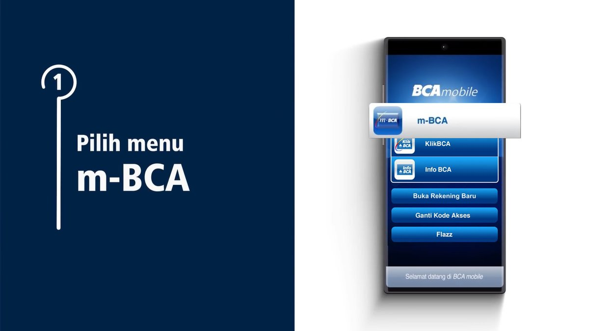 Buka aplikasi BCA mobile lalu pilih menu m-BCA dan pilih m-Admin. https://t.co/T7nZrltamo