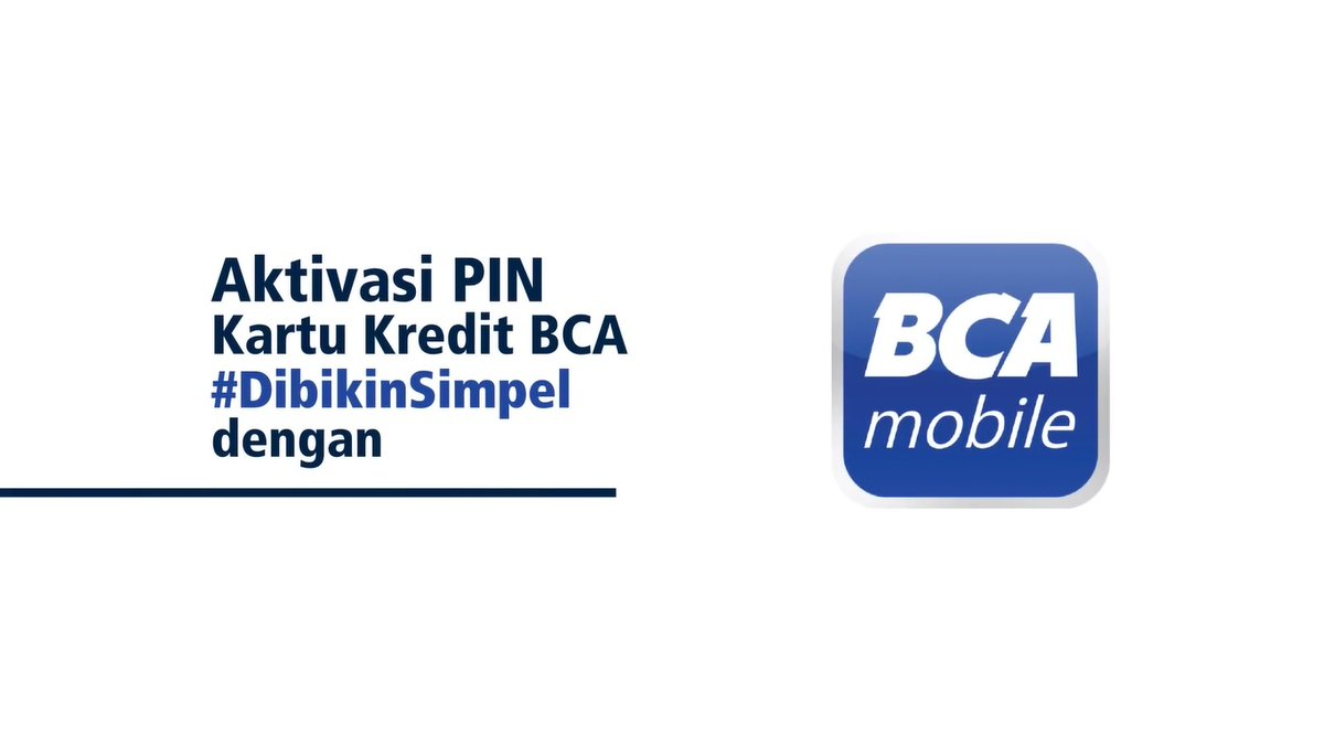 Segera lakukan aktivasi PIN kartu kredit BCA Anda sekarang juga❗️❗️ 📢Mulai 1 Juli 2020 semua transaksi kartu kredit wajib menggunakan PIN dan sudah tidak bisa lagi menggunakan tanda tangan📢 Simak tutorial aktivasinya melalui BCA mobile berikut ini.  [Sebuat utas] https://t.co/lgSIcnOrzq