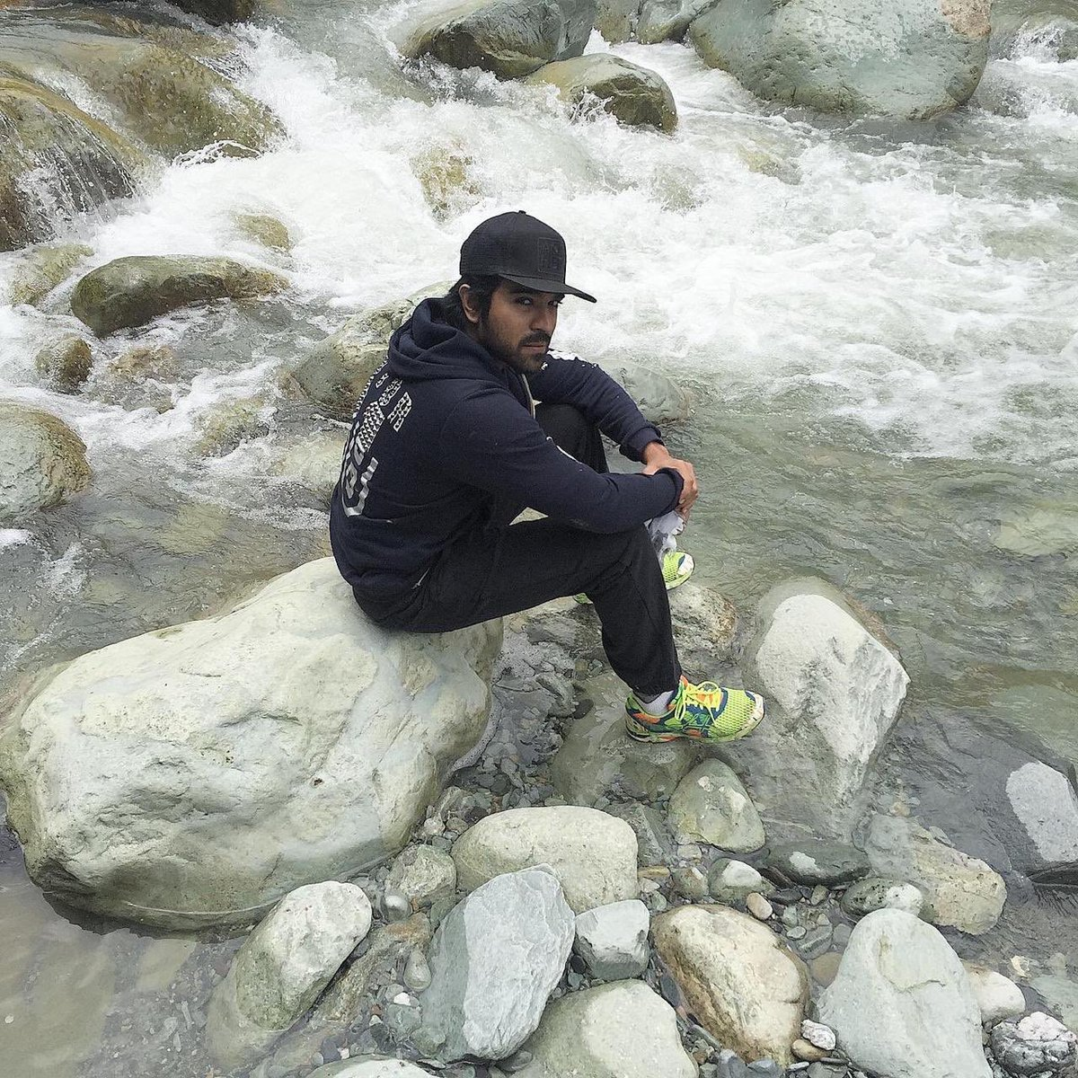 Throwback - In Haridwar. Right now going with the flow and hoping that things get back to normal. Stay safe.