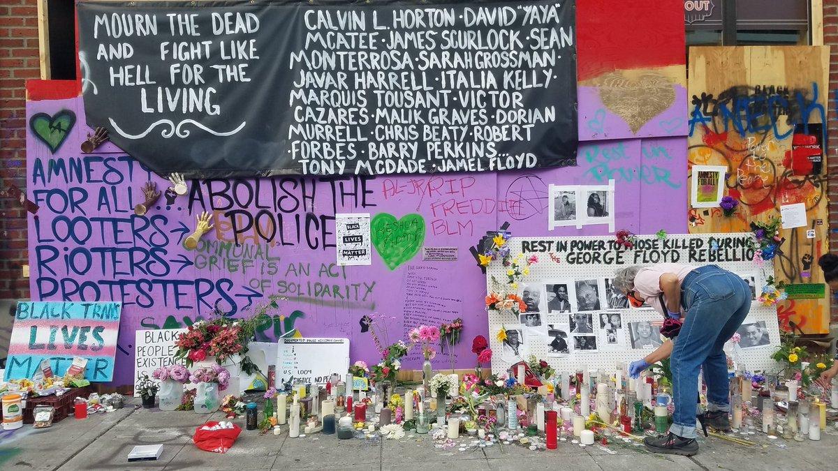 Внутренние террористы захватили Сиэтл