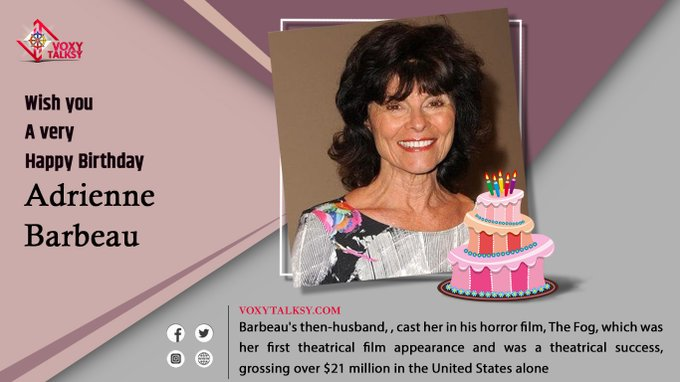 Happy Birthday Adrienne Barbeau.