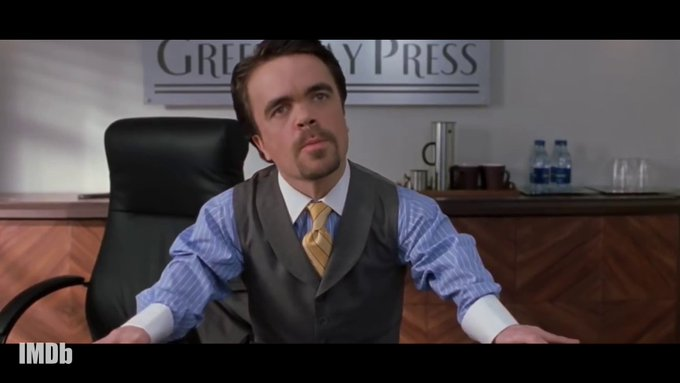 Happy 51st Birthday to Peter Dinklage so many great roles with 83 acting credits.  I Drink and I Know Things
