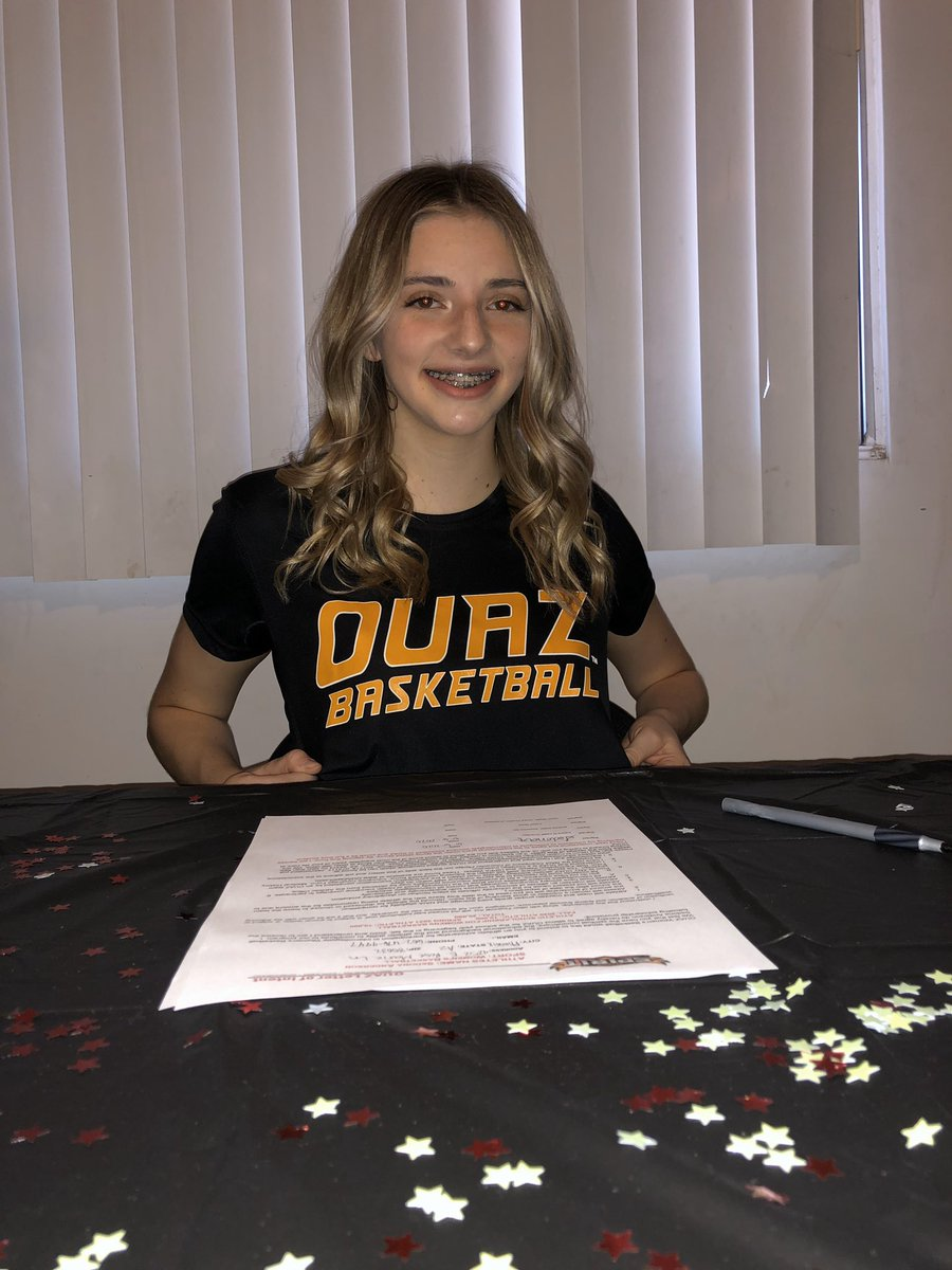 Sedona Anderson (5'10 G Horizon HS AZ) signing with @OUAZWBB!!! Sedona can flat out go! Expecting big things during her time in a Spirit uniform!!! No doubt gonna make a immediate impact! https://t.co/5zsphMDeSm