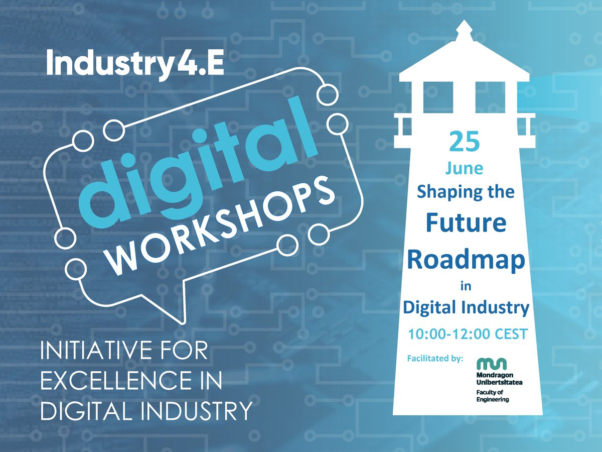 """Excellent #Industry4E Lighthouse workshop this morning!  Thank you to all participants & facilitators for the great turnout & so actively participating in polls & breakout sessions """"Shaping the Future Roadmap in Digital Industry""""  #ECSELJUSymposium2020 #ECSELJU #H2020"""