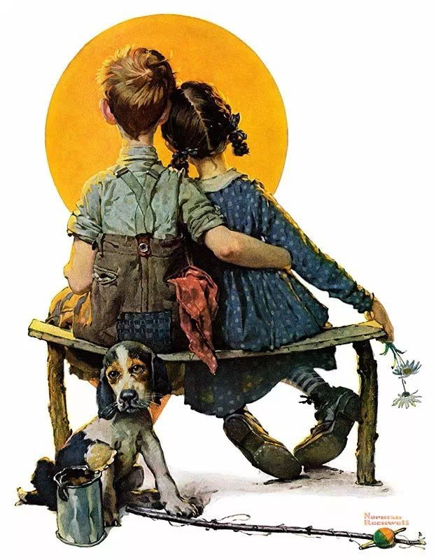Norman Percevel Rockwell (February 3, 1894 – November 8, 1978) was an American painter and illustrator. pic.twitter.com/HkFQk2yn3M