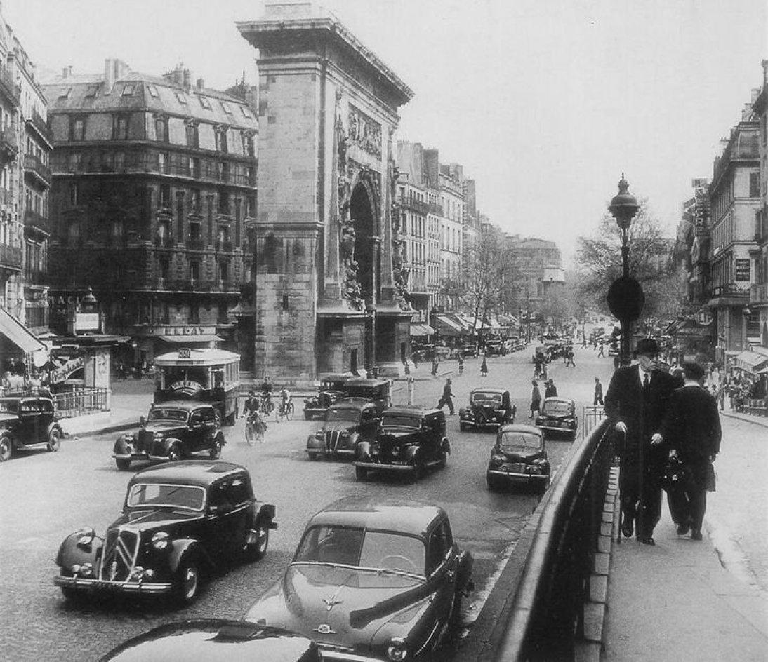 Boulevard de Bonne Nouvelle  1953   Paris  Pinterest