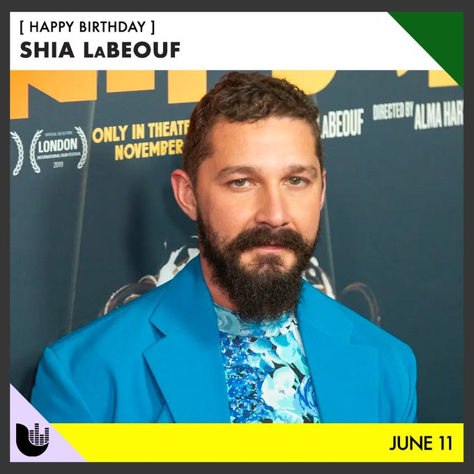 Happy birthday to Transformers actor Shia LaBeouf
