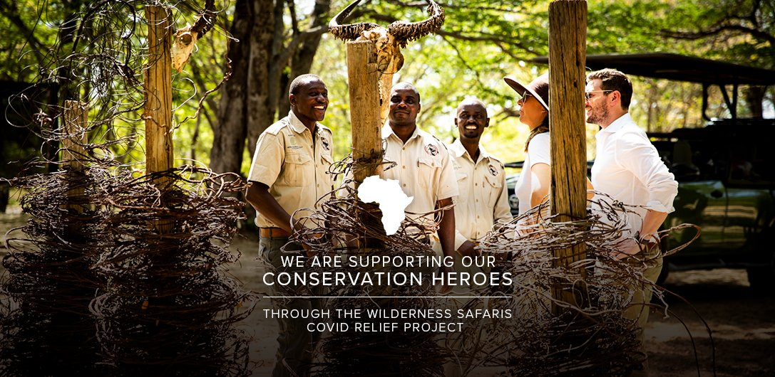 Please join us to support our Conservation Heroes. Read more here: https://t.co/ZZqx0PblsC #ConservationHeroes  #WeAreWilderness #MakeADifference #CovidRelief https://t.co/r6gB3Qexjy