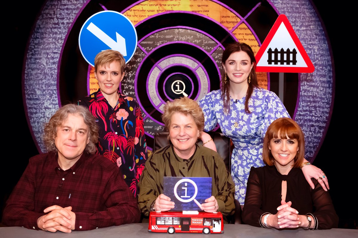 It's almost time to hit the road (and rail) and tune in to @BBCTwo for a brand-new episode of #QI @qikipedia all about... well, Road and Rail. Don't miss it tonight at 9pm, as @sanditoksvig and @alandavies1 are joined by @WeeMissBea, @callybeaton and @wiggywalsh https://t.co/czs1Pn568e