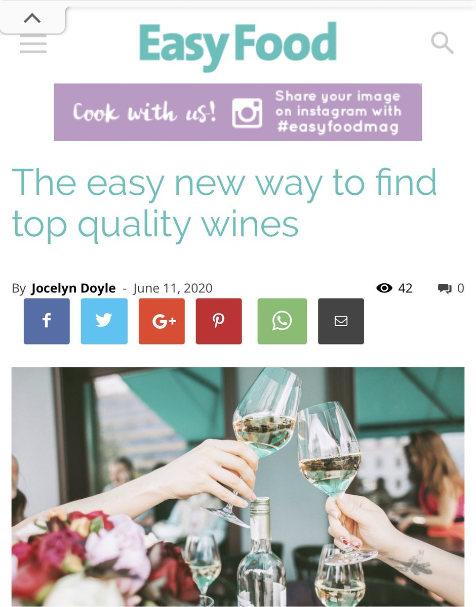 Thanks to  http:// easyfood.ie     @easyfoodmag for a very expertly written review of wines from  http:// Wineswithstories.com      http:// easyfood.ie/articles/the-e    … #drinkbetterwine #winelovers #slowwine #wineswithstories #artisanwines #wine<br>http://pic.twitter.com/Gfb9e8pORl