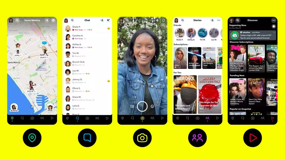 Snapchat finally gets a better navigation