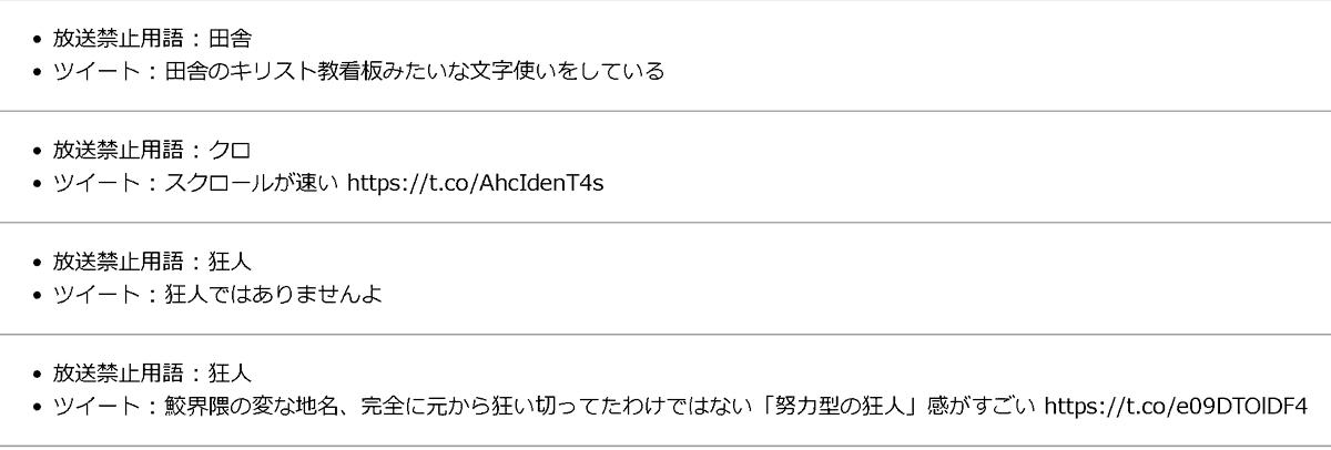 禁止 用語 放送 放送禁止用語の厳しさが日本とアメリカでこんなにも違う理由