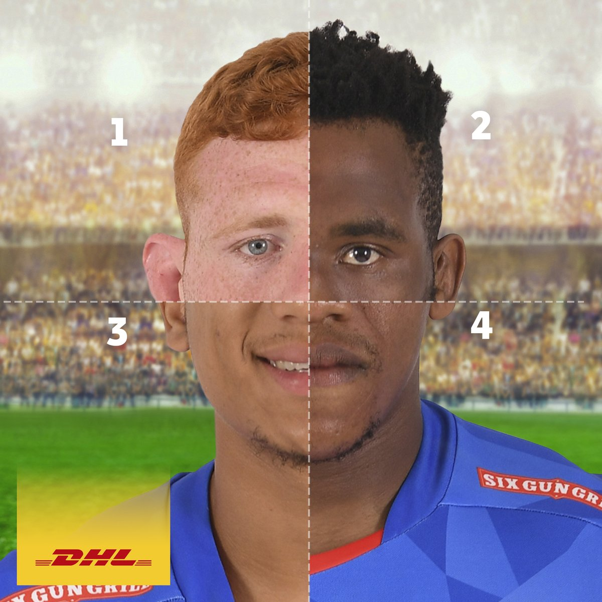 Which four @THESTORMERS players make up this handsome individual?  #DHLRugby #IAmAStormer #DHLDelivers https://t.co/tGH2BxyoON