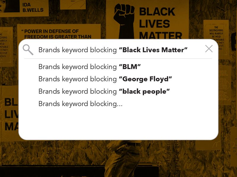 Keyword blocking hits Black Lives Matter content https://t.co/u0Dc6V3Sfu https://t.co/ejm1m8H0q2
