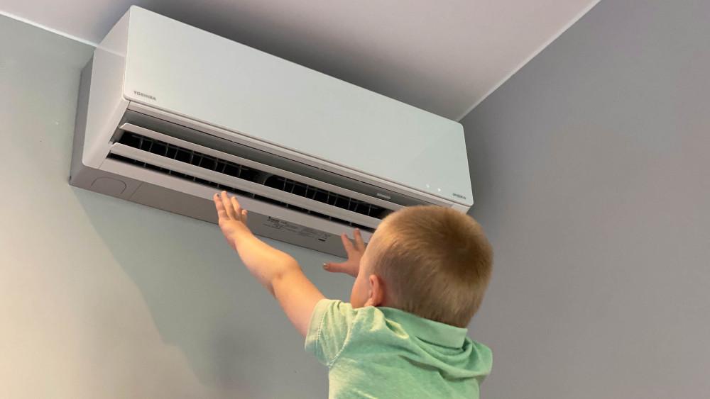 Varm? Nå er det bare å sette varmepumpen i kjølemodus - det koster ikke stort https://t.co/oI3KPm6LlF https://t.co/2Riv3saJ2t