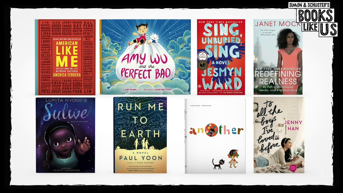 A few months ago, we embarked on a mission to discover when some of our authors were first able to connect with characters that reflected their own personal narrative. The results were transformative & emotional. Introducing Simon & Schuster's #BooksLikeUs