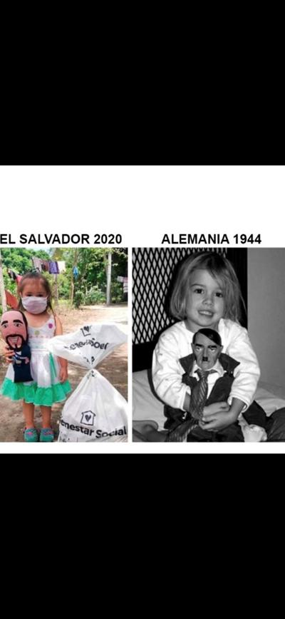 #bukeledictador imita a su idolo.  #reporteni https://t.co/afxVibnhPt