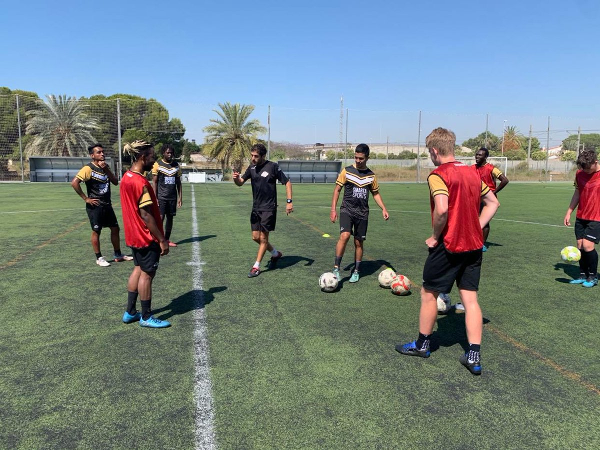 Our @SpainAcademy players had to put the work in today as the temperatures begin to rise in Alicante today.  One step closer to a full return in July.  #PlayAbroad https://t.co/x5D6MYxUIJ