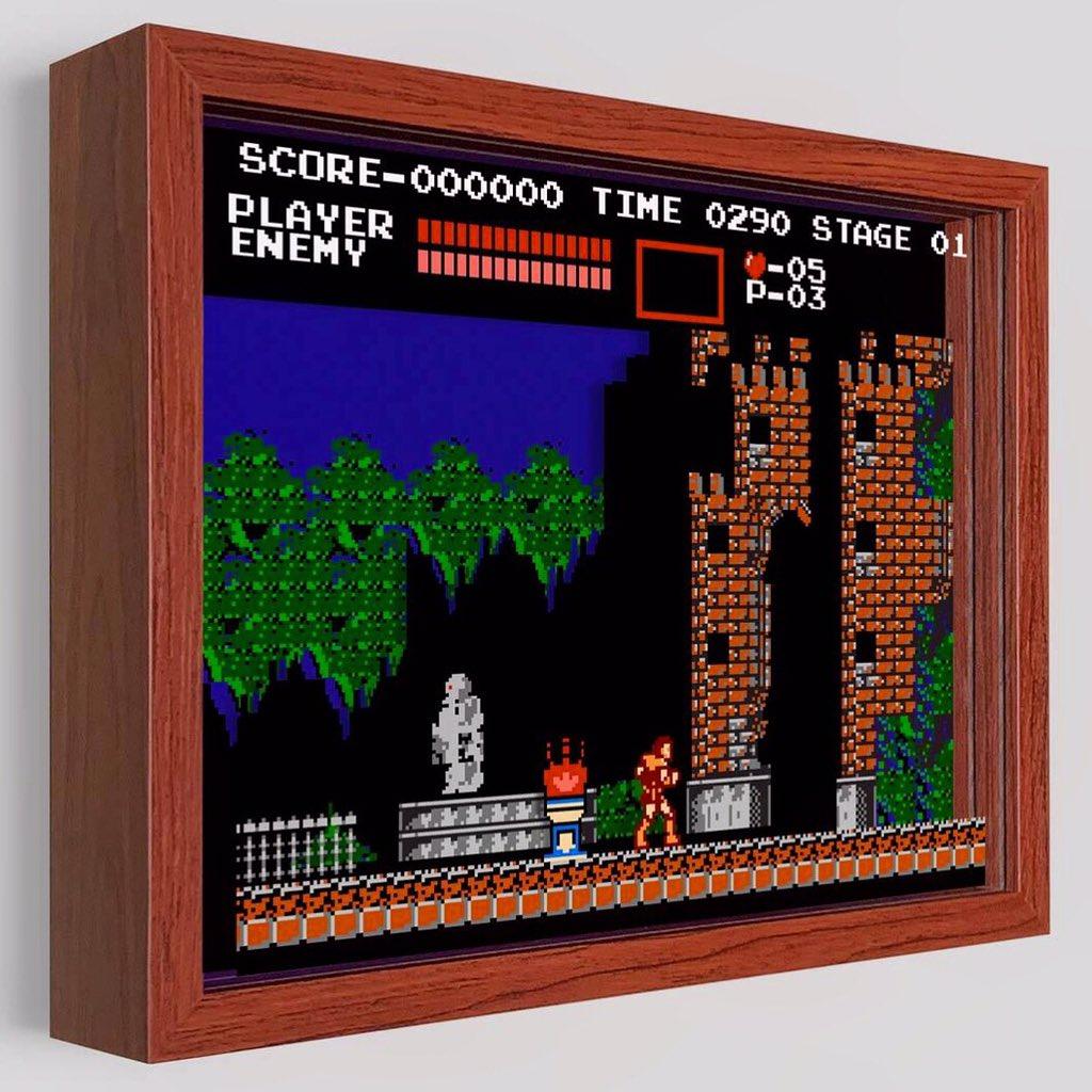 Enter if You Dare! https://t.co/g0EwqkoaUG @konami #art #artwork #desktop #simon #arcade #videogames #nintendo #nes #castlevania #nintendolife #belmont #dracula #vampire #gameboy #n64 #ps4 #ps3 #wii #xbox #halloween #evil #fight #silverbullet #3d #game #fun #gamer https://t.co/OtUmyMn9E2