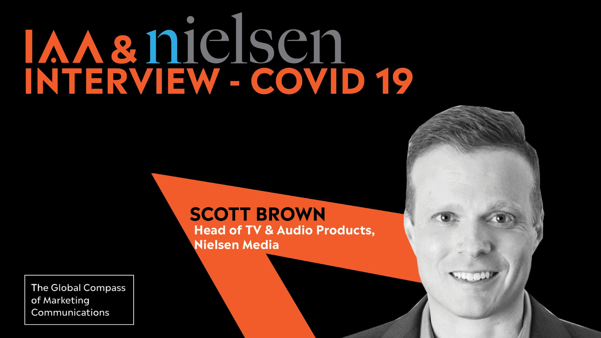 """IAA Global on Twitter: """"IAA in discussion with Scott N. Brown, General  Manager, Television and Audio businesses, @nielsen in the US, on the latest  insights into the state of media consumption and"""