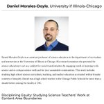 Image for the Tweet beginning: Congratulations to Danny Morales-Doyle, assistant