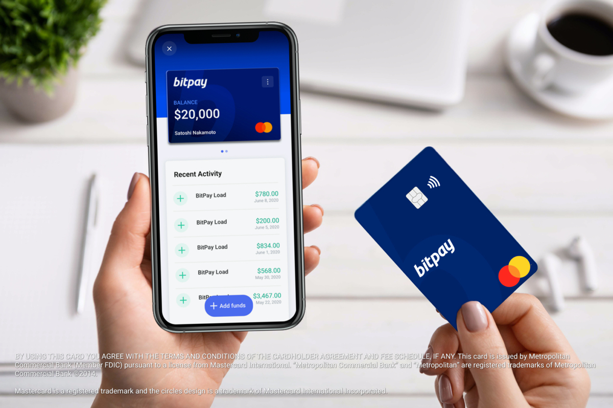 @BitPay is excited to announce the release of the first ever US prepaid @Mastercard that can be loaded with dollars converted from cryptocurrency. Download the BitPay App to order the card or go to https://t.co/Zhp0IR64Et to learn more.  #crypto #card #bitcoin #prepaid https://t.co/vQpSWBXFn3