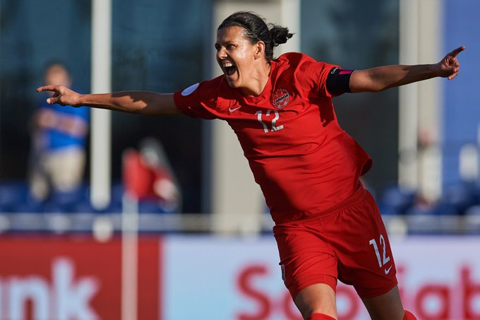 Happy birthday to the world\s greatest goalscorer, Christine Sinclair!