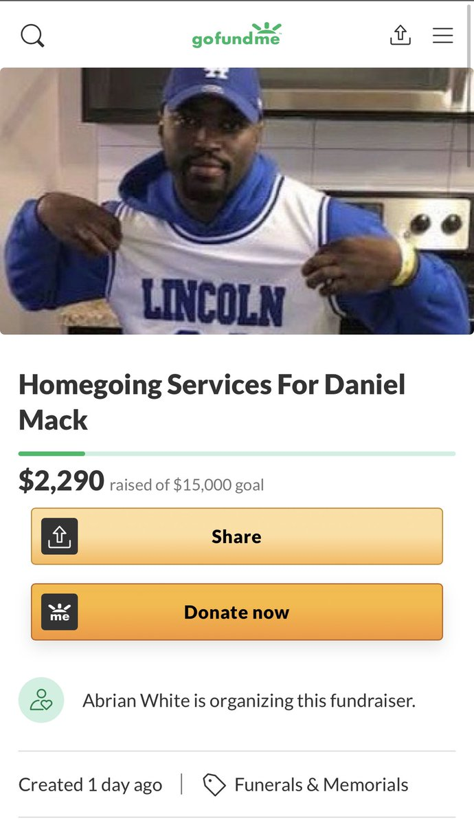 Donate to and boost this! rest in peace Daniel 🧡 gofundme.com/f/homegoing-se…