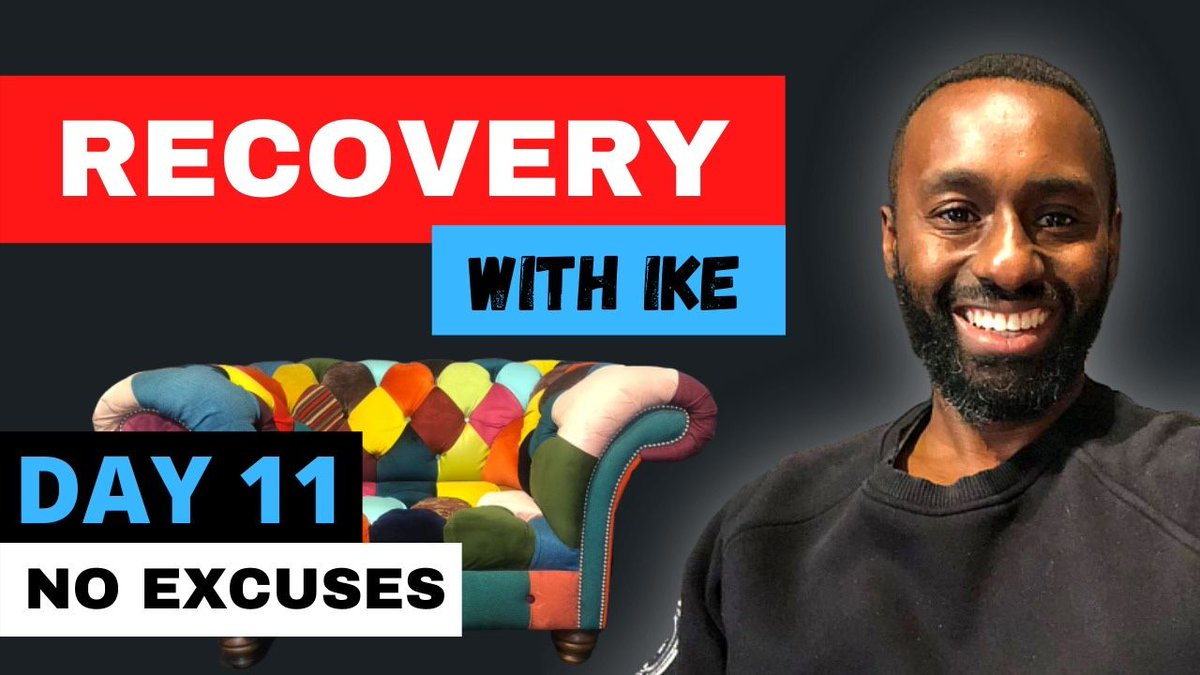 Day 11 - No Excuses - #RecoveryWithIke  #ChildOfGod #NoExcuses #ChildOfGodTeam #ChildOfGodMovement #Recovery #Drugs #Alcohol #ThankYou #Blessed #GodBless #MyStory #MyJourney #SupermanFast #Support #Donate #MasksForAfrica #MasksForNHS  https://t.co/qNcgVJ0Qmm https://t.co/UVHRtGPm3q
