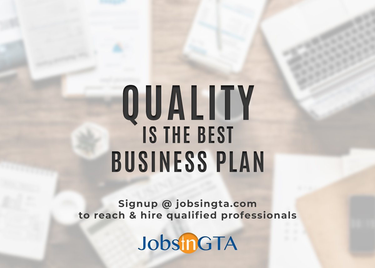 Signup @ https://t.co/yC9btuqlhl & reach thousands of qualified candidates in GTA.  #JobsInGTA #SearchLocal #ThursdayThoughts #Covid19Resolution #BestJobPortal #OnlineJobPosting #HireLocal #WorkFromHome #OnlineRecruitment #HireFromHome #StayHome #StaySafe #EmployerSolution https://t.co/BAw0PWpEVQ