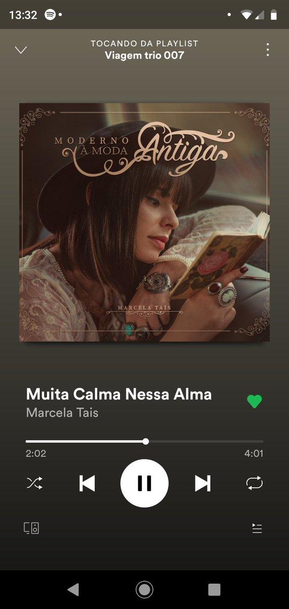 Quando a gente escuta essa música no fone de ouvido, parece que dá mais paz na alma ❤️ @Marcela_Tais https://t.co/wCak2h2V9w