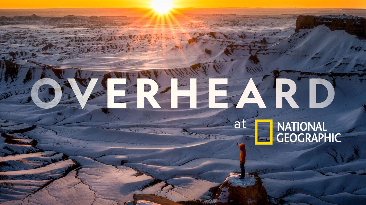 Our podcast, #OverheardNatGeo returns on June 16 for a third season! Listen to the trailer and past episodes here: https://t.co/wTa40BlhKs https://t.co/VA4MD0o09U