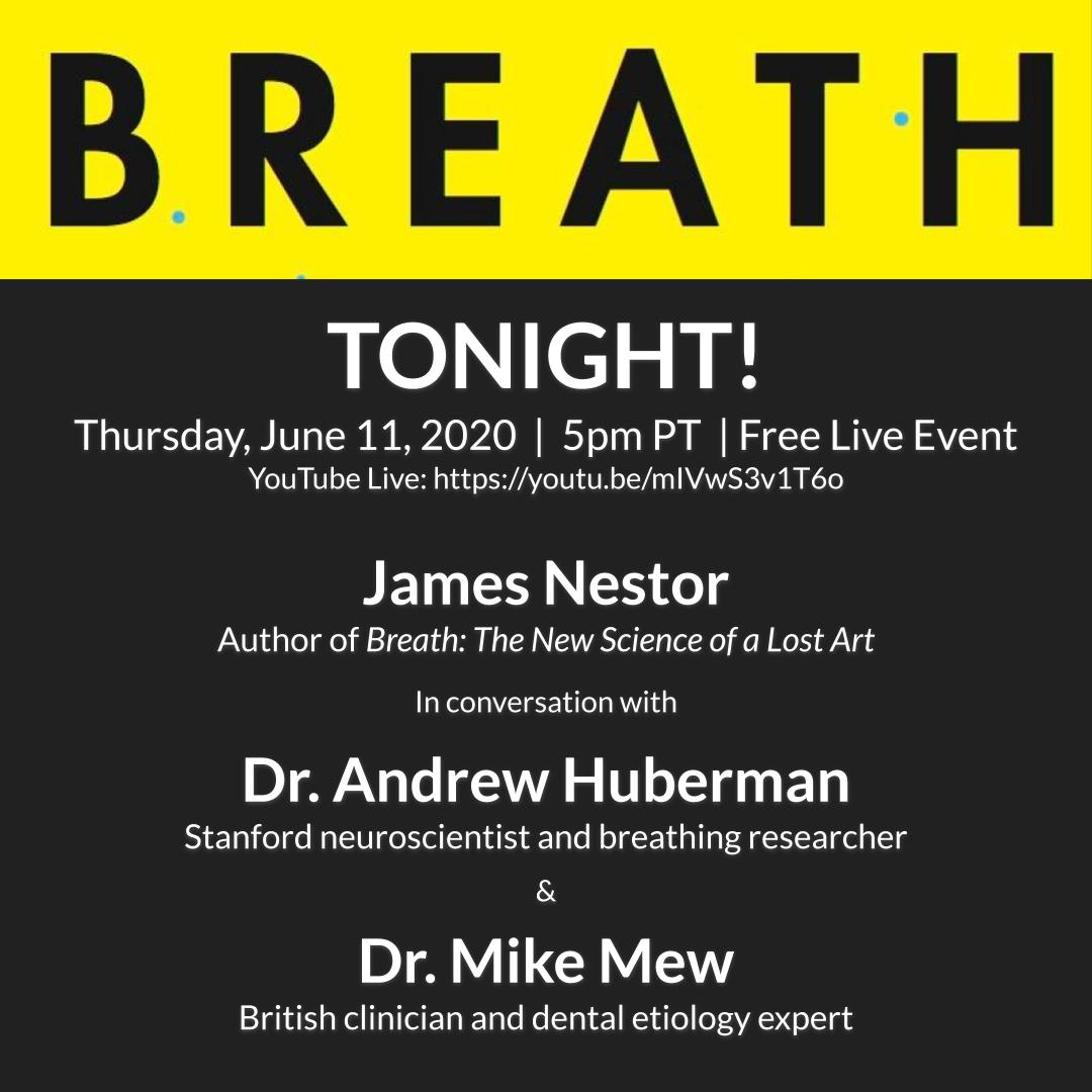 (Virtual) Book Release is TONIGHT (June 11) @ 5PT  Zoom passes are all gone but we managed to finagle a way to stream it to YouTube Live: https://t.co/1bjoblVQ73   The great Drs. Mike Mew and Dr. Andrew Huberman will be presenting as well and we'll do a big Q&A at the end. https://t.co/blYLcGRHbA