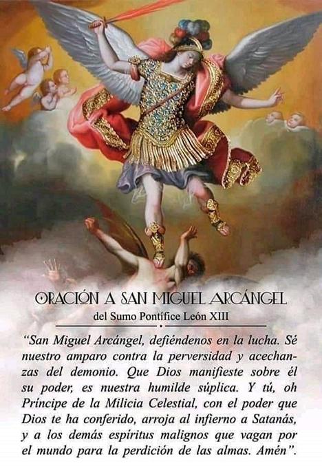 Santoral Católico On Twitter Oración A San Miguel Arcángel Https T Co Raar8t7rpq