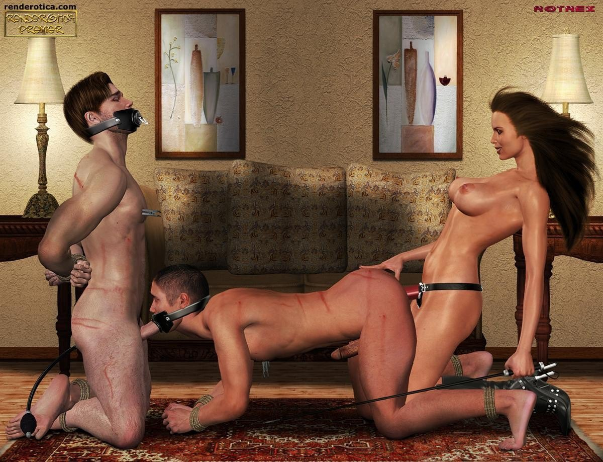 Femdom male rape brutal anal humiliation and domination photos