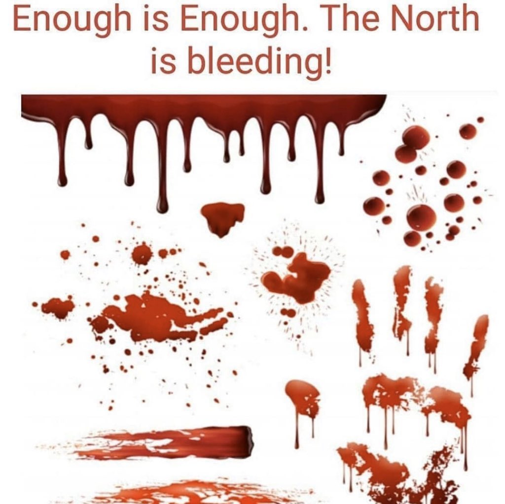 You know How to end it, just end this banditry,our people are dying we are tired. Enough is Enough the North is bleading.💔   #NorthernLivesMatter https://t.co/Gzme8mV5Kt
