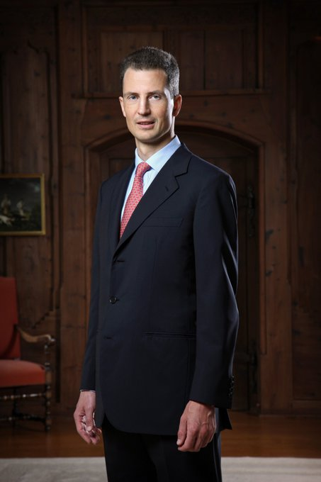 Happy Birthday Alois, Hereditary Prince of Liechtenstein! He turned 52 today!