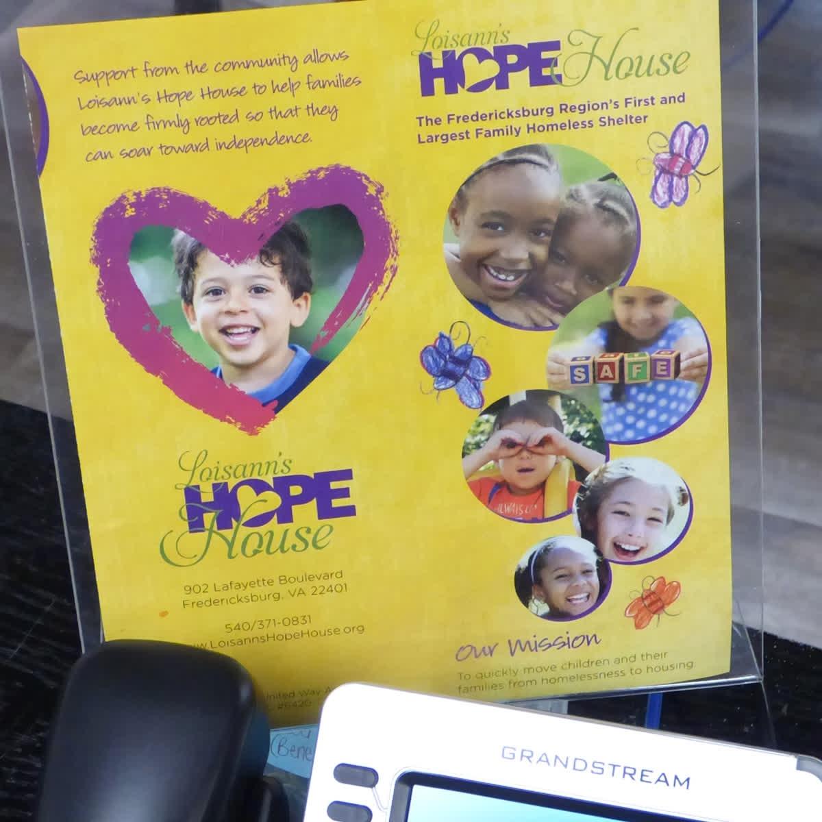 hope house fredericksburg va