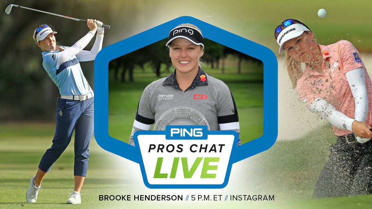 🏌️♀️ 22 years old 🇨🇦  Olympian 🏆  9-time @LPGA winner 🇨🇦  Winningest Canadian golfer of all time TOMORROW, Pros Chat LIVE on Instagram at 5 PM ET. https://t.co/BopPDCTmGn