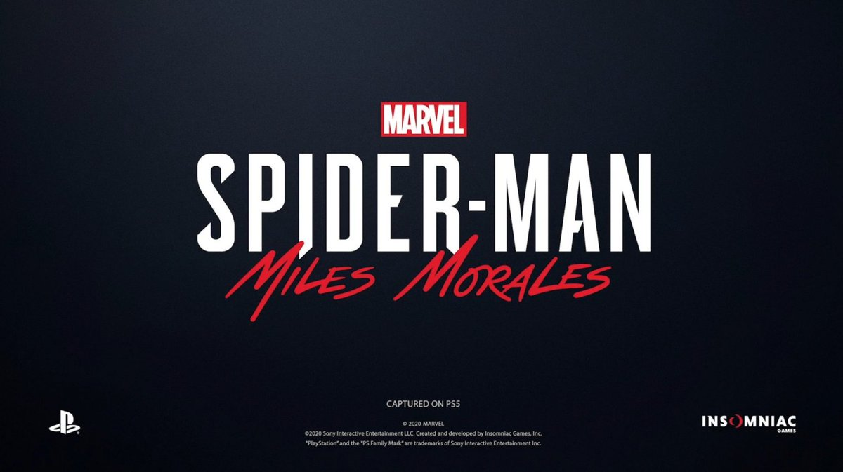 'Spider-Man: Miles Morales' is coming to #PS5 this holiday 🕸