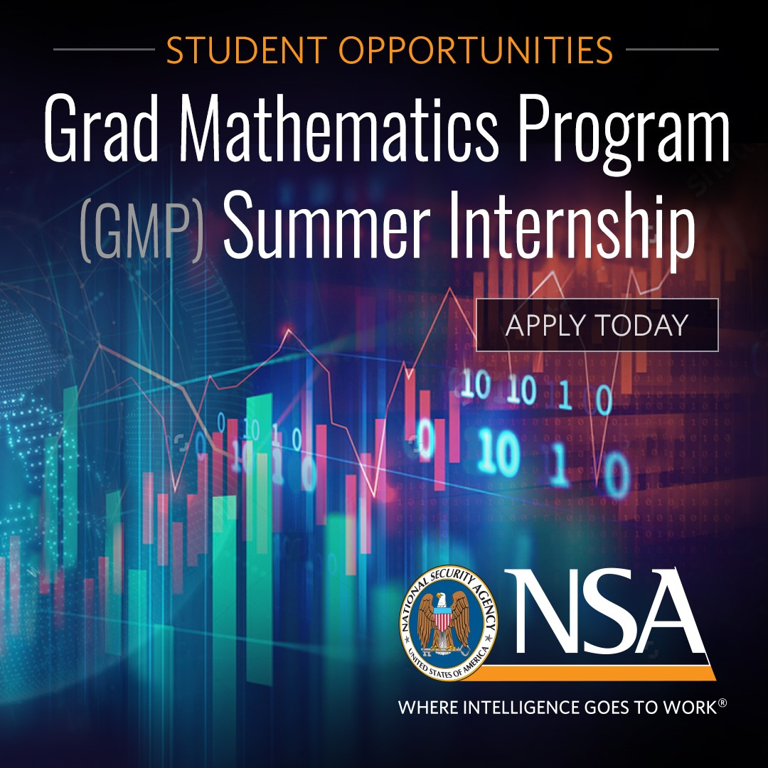 Attention mathematics and statistics graduate students: We want to pay you to solve mission-critical problems. Collaborate with the country's top researchers and get access to advanced computing resources. Be part of the team that protects America! https://t.co/xedgGq7LKO https://t.co/1f3LzxqSfk