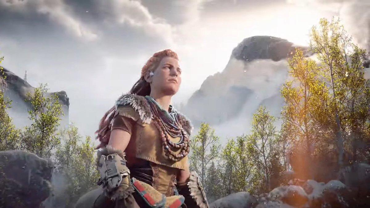 """GameNotify's tweet - """"Sony kündigt Horizon: Forbidden West ..."""