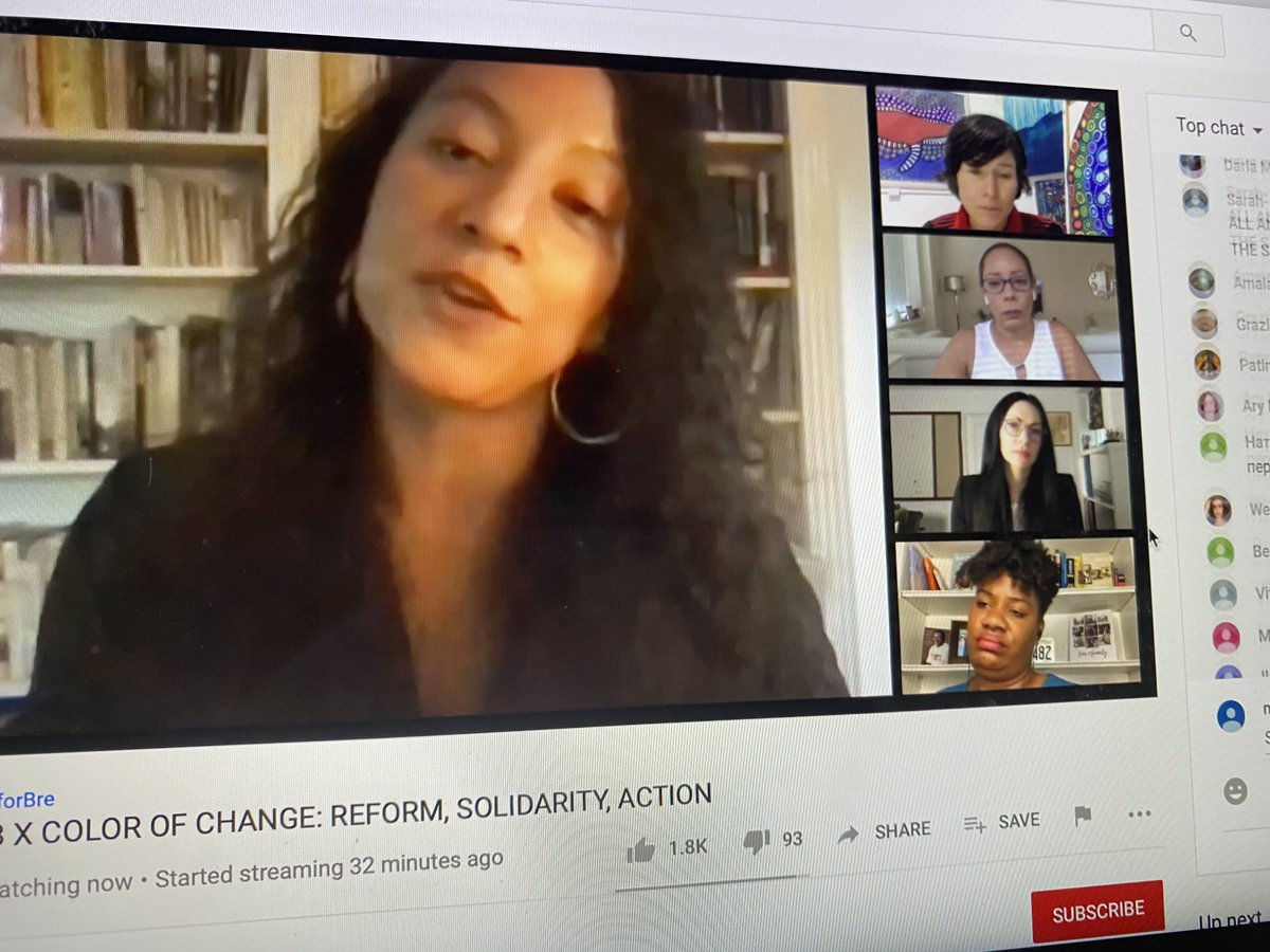 Dr. Hinton is so brilliant it's crazy. ⁦@elizabhinton⁩ Thank you for your time. ⁦@ColorOfChange⁩ https://t.co/LkHZx1RTCe https://t.co/PXZx6xBxRa