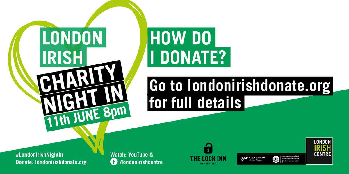 We've raised £61k! londonirishdonate.org
