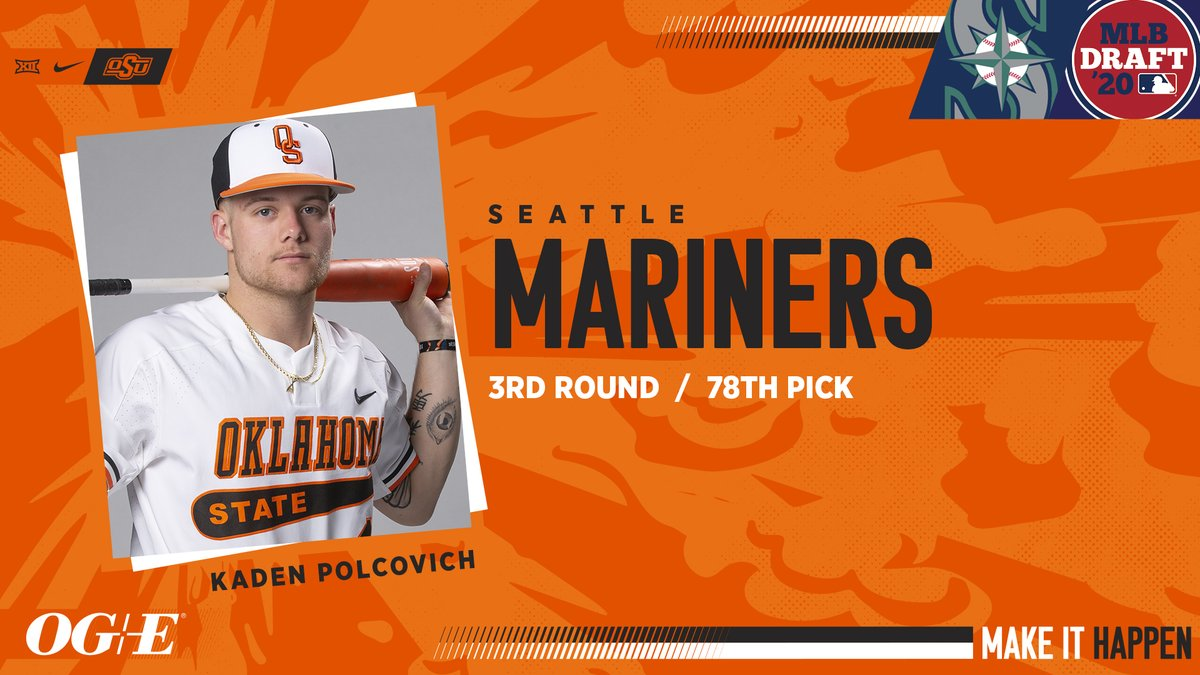 Congrats to @K_Polcovich_02 on getting the @MLBDraft call! #GoPokes #okstate #MakeItHappen