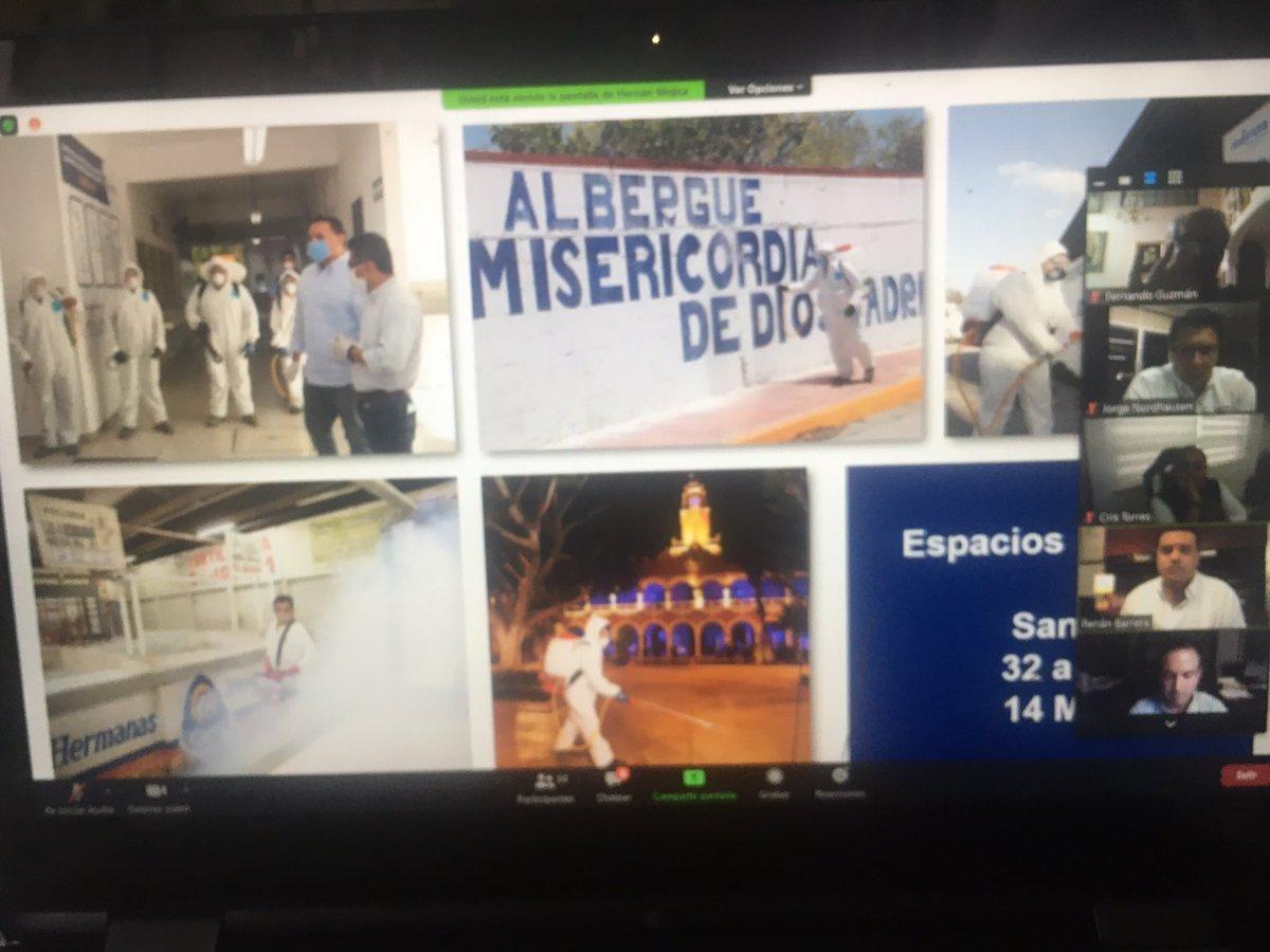 Bien por #Merida y su Alcalde mi amigo #RenanBarrera comprometido en la atención de la pandemia sanitaria. A proteger a nuestras familias y cuidar a los más necesitados. https://t.co/tZwBNZwhrc