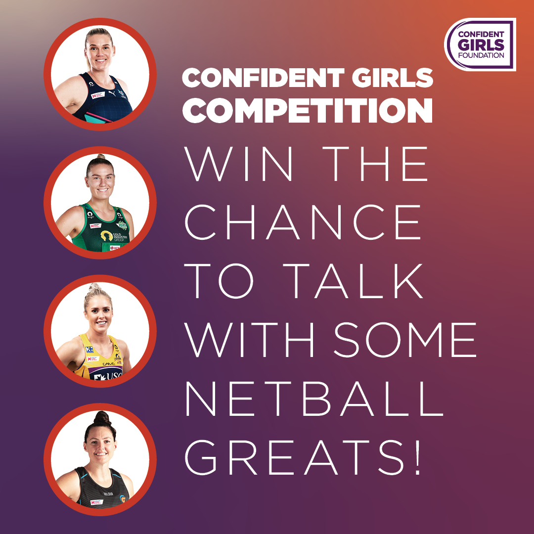 The @ConfidentGirls Foundation is excited to hear what netball means to you and your community!    Tell them in 50 words or less to go in the draw to win a 30 minute zoom for your netball team!   Closes 15/06/20 at 11.59 AEST   https://t.co/zlkj41IKg5 https://t.co/3hsKbyMSel