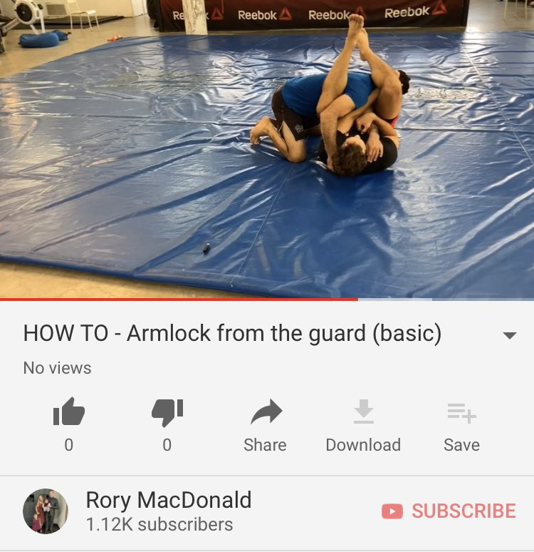 basic armlock from full guard  https://t.co/3uxj8PGrTU https://t.co/aKC55wmPAG